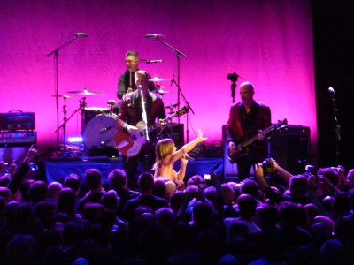 Iggy Pop, 13th May 2016, Royal Albert Hall - Iggy with the audience