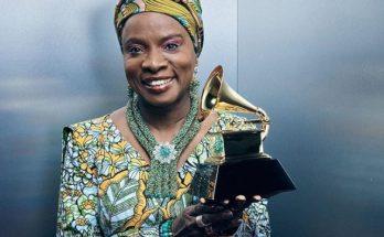 Angelique Kidjo Acknowledges Burna Boy After Winning Grammy Award