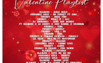 dj enimoney valentine's playlist