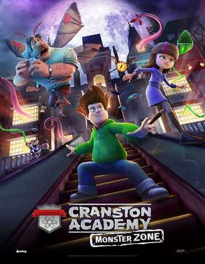 Cranston Academy: Monster Zone (2020) Full Animation Movie