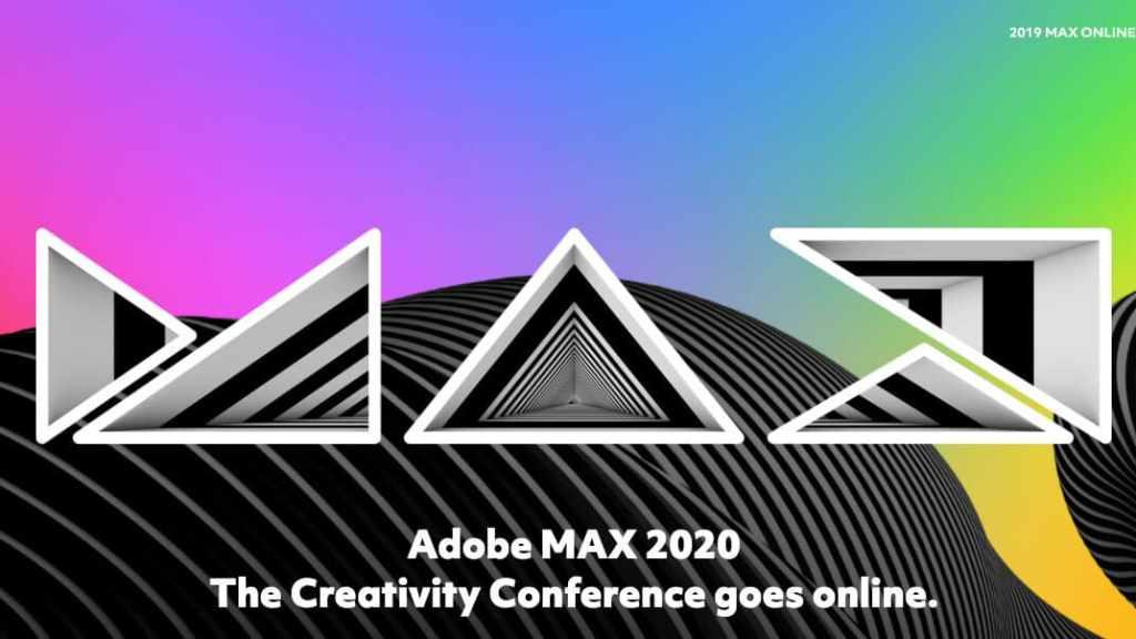 Adobe MAX 2020 locandina