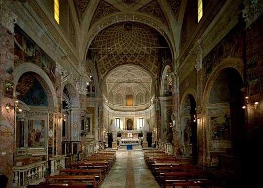 Interno della chiesa di San Pietro in Montorio