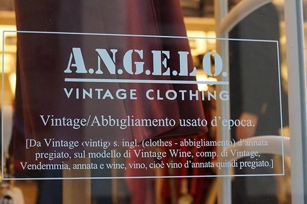 angelo vintage shop