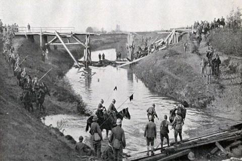 13 novembre 1917: inizia la prima battaglia del Piave