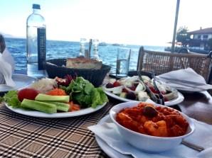 Ohrid - fabulous food