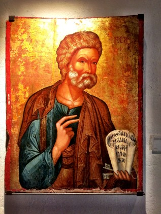 St Peter in the Timios Stavros Monastery
