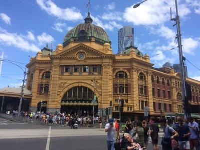 The Heart of Melbourne - Flinders Station