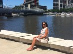 By the river in Docklands