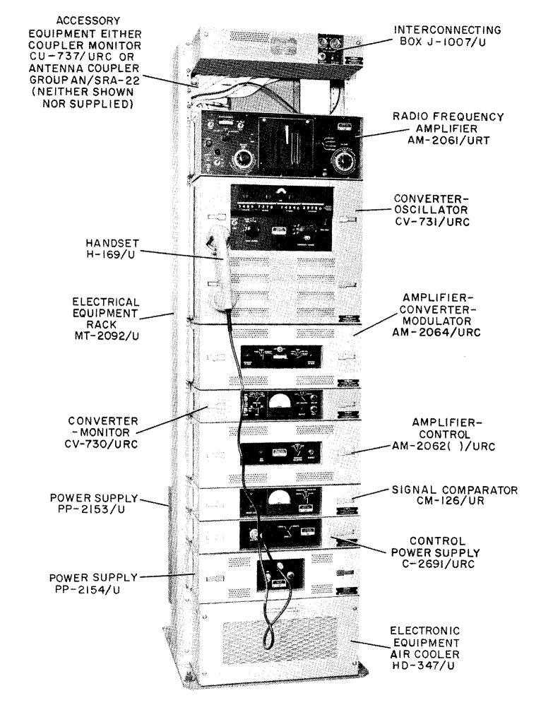 AN/URC-32 (Collins KWT-6) SSB Transceiver