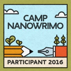Book 2 at Camp NaNoWriMo