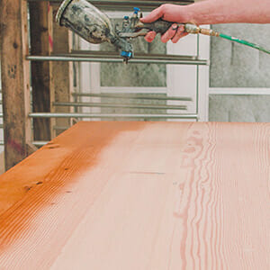 Can You Spray Lacquer Over Conversion Varnish
