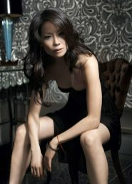 Lucy Liu fashionista