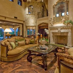 Mediterranean Living Room Formal Ideas With Fireplace Tips For In Style Furniture Textiles Share