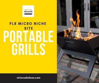 Amazon Affiliate Website - Portable Grills