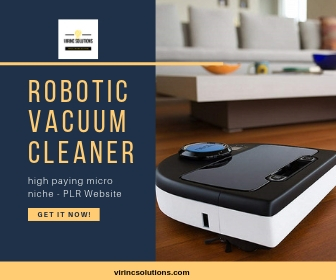Pre Made Website For Sale In Robotic Vacuums Micro Niche