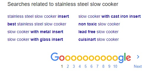 emerging sub niche in slow cookers