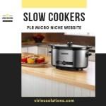 Amazon Turnkey Website - Slow Cookers