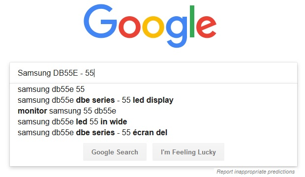 using Google for keyword research
