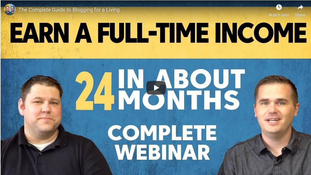 Income Site Webinar - Income School Project 24