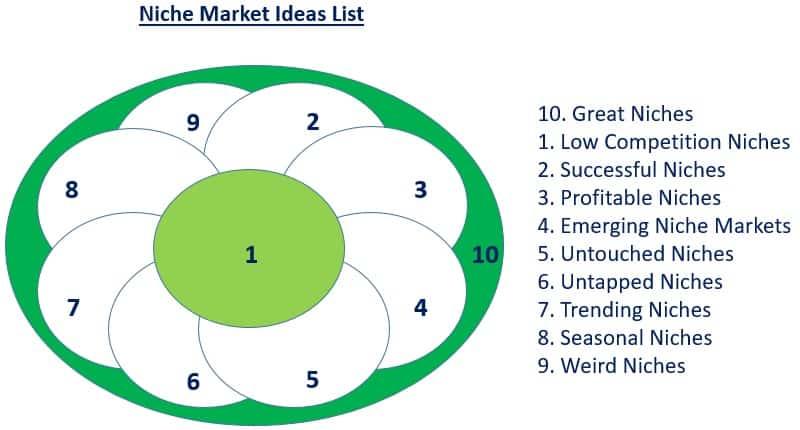niche affiliate ideas