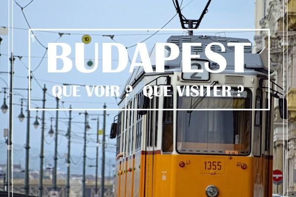 BUDAPEST en 1 jour