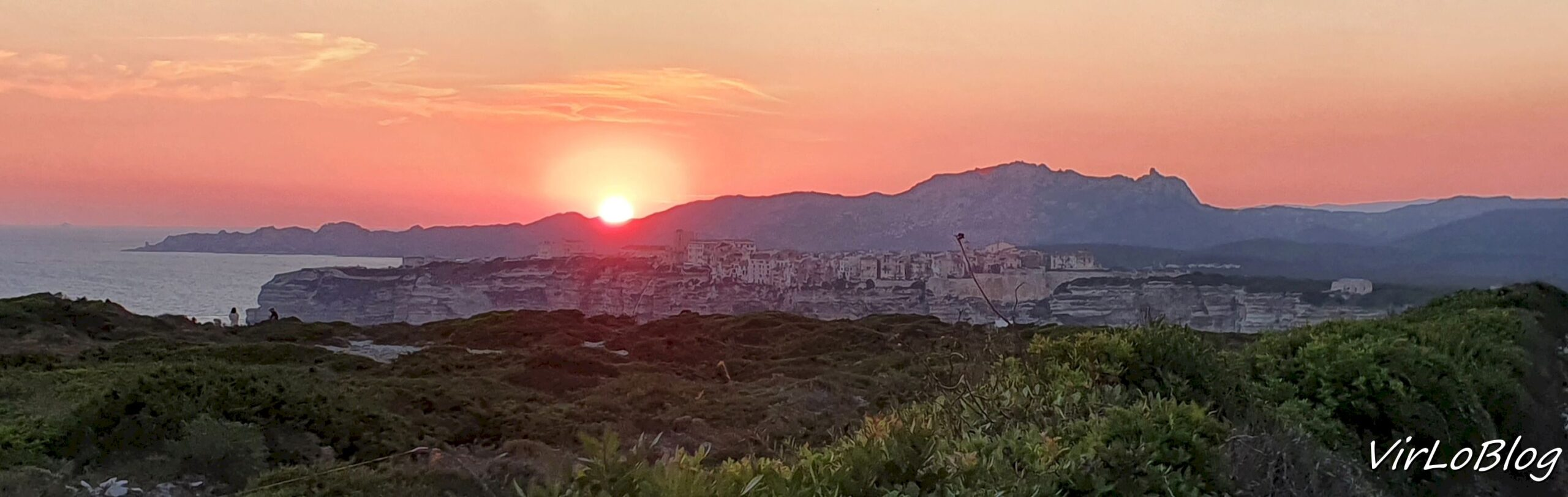 Coucher de soleil Bonifacio