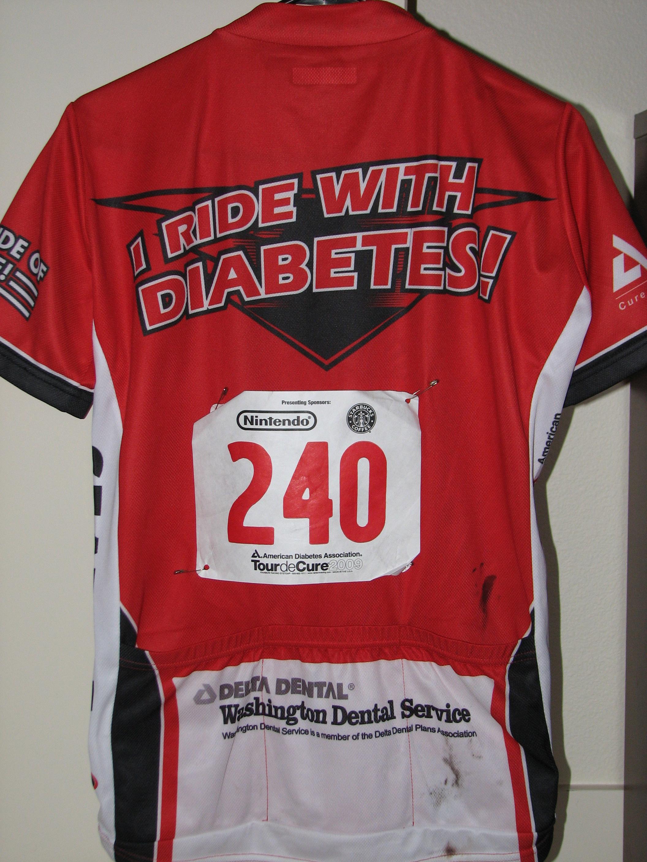 I ride with Diabetes