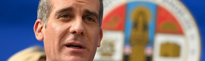 L.A. Mayor Eric Garcetti: 'We Are Six to 12 Days Behind New York'