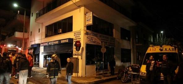 Τραγωδία σε συνεργείο μοτοσικλετών στον Βύρωνα