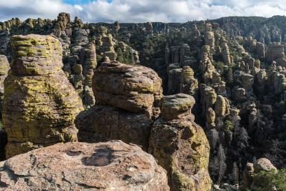Rhyolite Pinnacles in Chiricahua