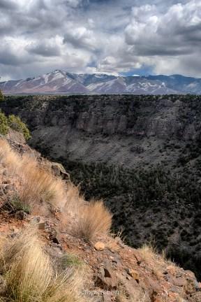 Sangre de Cristo Mountains in Rio Grande del Norte National Monument