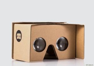 Внешний вид Google Cardboard