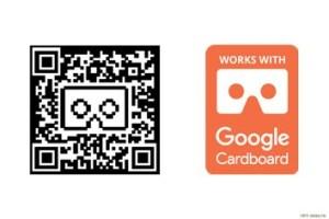 QR-код и сертификат Google Cardboard