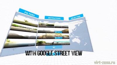 Google Street в VR плеере VRTIFY
