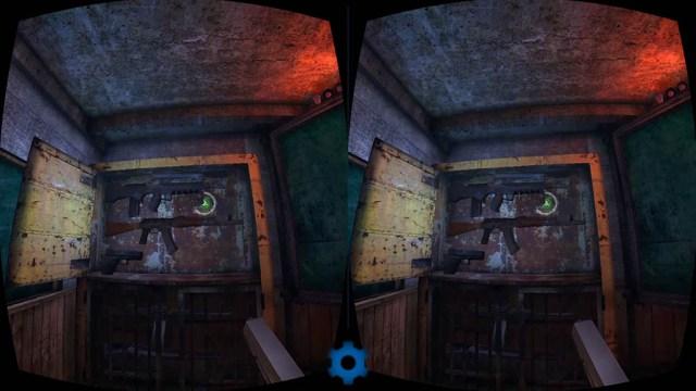 Zombie Shooter VR выбор оружия
