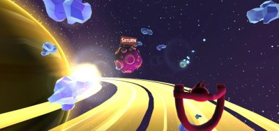 angry birds space vr скрин 3