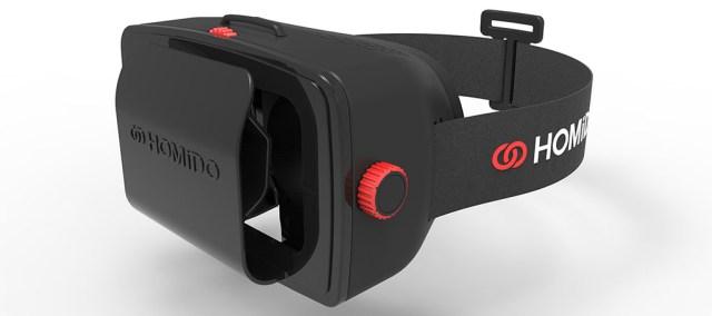 Шлем виртуальной реальности Homido VR