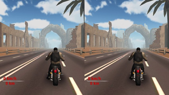 Highway Stunt Bike Rider VR скриншот