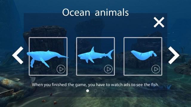 Открытие жителей в игре Sea World VR2