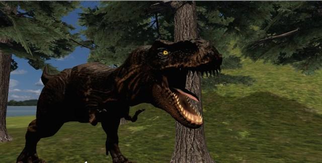 VR Jurassic Island