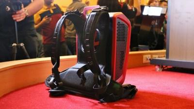 компьютер для виртуальной реальности msi backpack