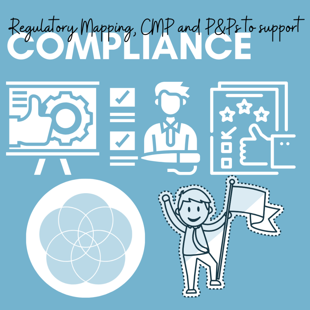 Regulatory Mapping, CMP and P&Ps