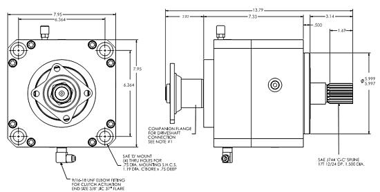 PTO 900 Specs CX28/31/35