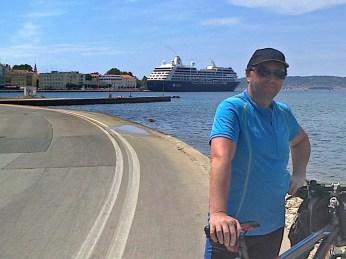 Bike road to Zadar