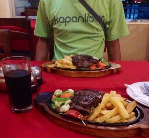 Steak Everest