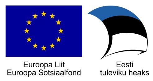 Projekti toetavad Euroopa Sotsiaalfond ja Eesti riik
