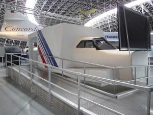 Exploitation du simulateur Concorde