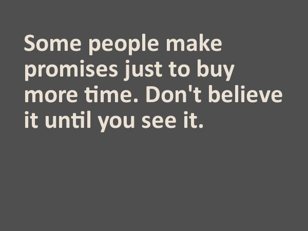 emptypromises