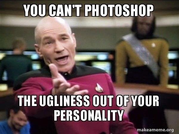 uglypersonality