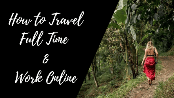 Enrollment Party Countdown! How to Travel Full Time and Work Online